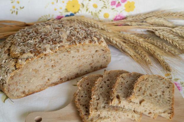 Przepis  chleb na zakwasie z ziarnami pszenicy przepis