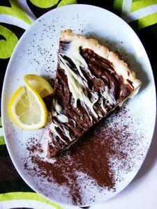 Tarta cytrynowo czekoladowa