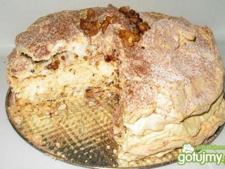 Przepis  tort dacquoise lepszy niż od sowy przepis