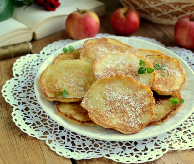 Przepis  ołatki z jabłkami przepis