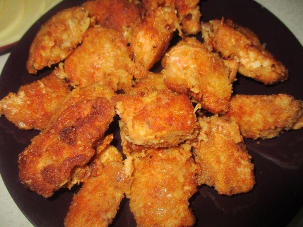 Przepis  kąski kurczaka w serowej panierce przepis