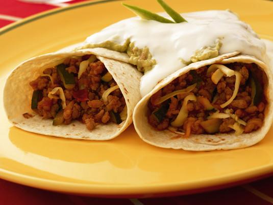 Meksykańskie placki burritos