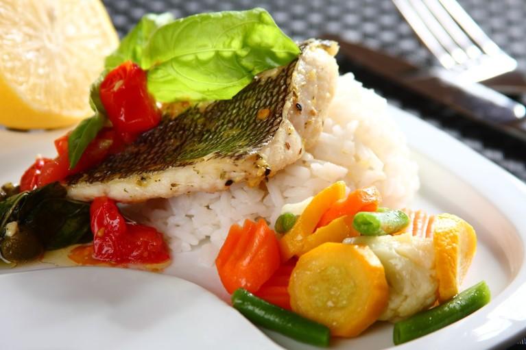 Aromatyczna ryba w ziołach