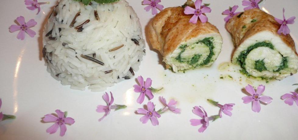 Drobiowe roladki z pokrzywą (autor: aginaa)