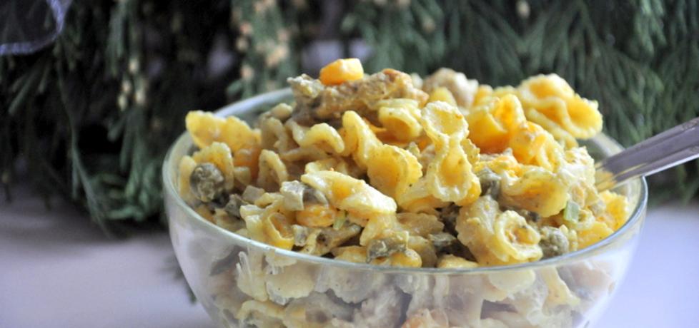 Makaronowa sałatka z curry (autor: monika111)