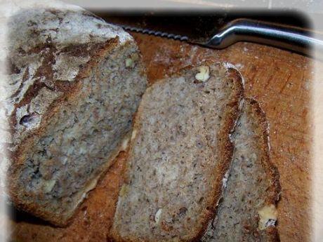 Przepis  chleb z orzechami przepis