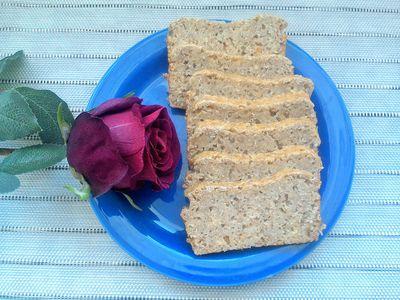 Bezglutenowy chleb bez mąki