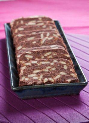 Blok czekoladowy  prosty przepis i składniki