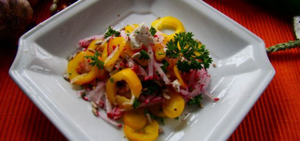 Sałatka warzywna z fetą (autor: iwa643)