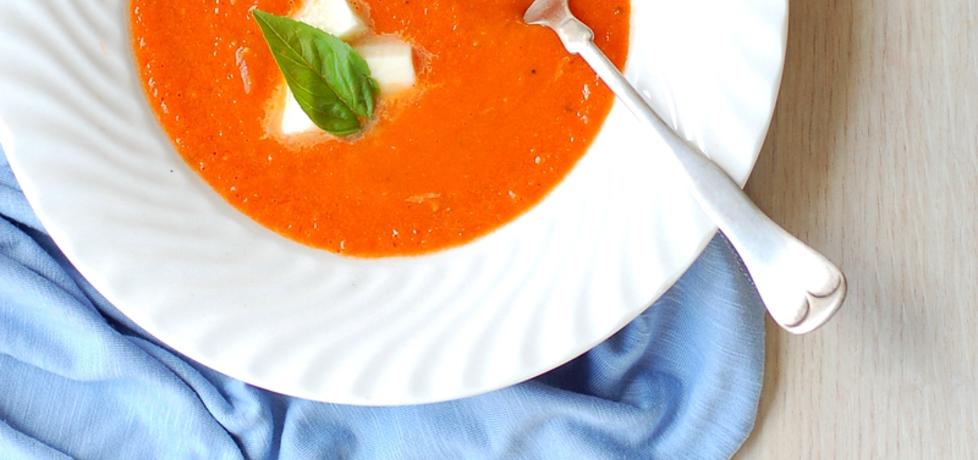 Zupa krem z pomidorów (autor: zchatynakoncuwsi ...