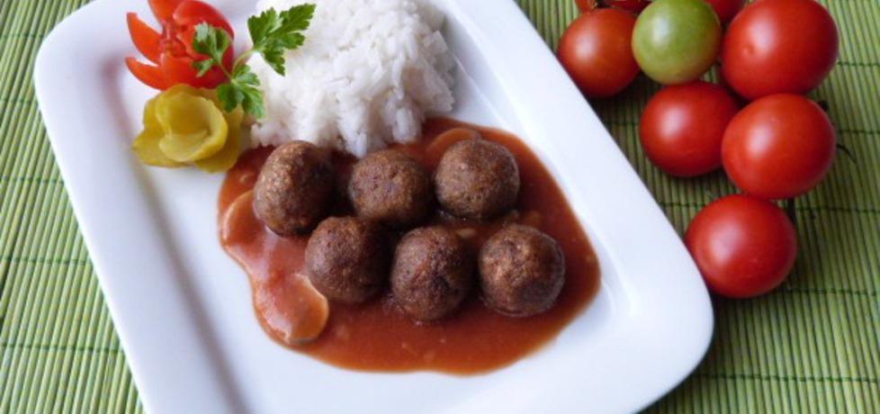 Kuleczki z mięsa mielonego z sosem (autor: renatazet ...