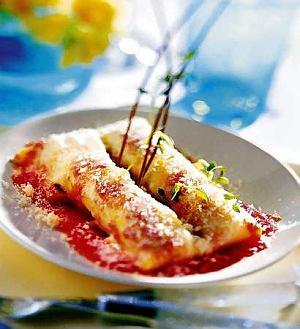 Cannelloni z sorrento  prosty przepis i składniki