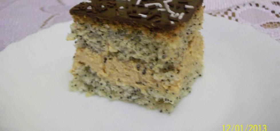 Ciasto z makiem i masą krówkową (autor: emme)