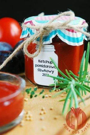 Ketchup pomidorowo-śliwkowy  prosty przepis i składniki