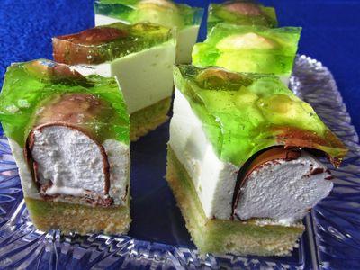 Ciasto z ciepłymi lodami