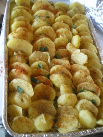 Ziołowe ziemniaczki z grilla