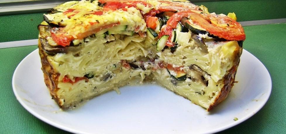 Zapiekane tagiatelle z warzywami ratatouille (autor: ania84 ...