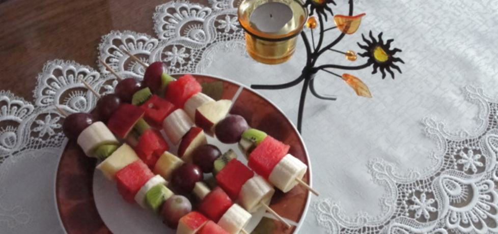 Szaszłyki owocowe (autor: alaaa)