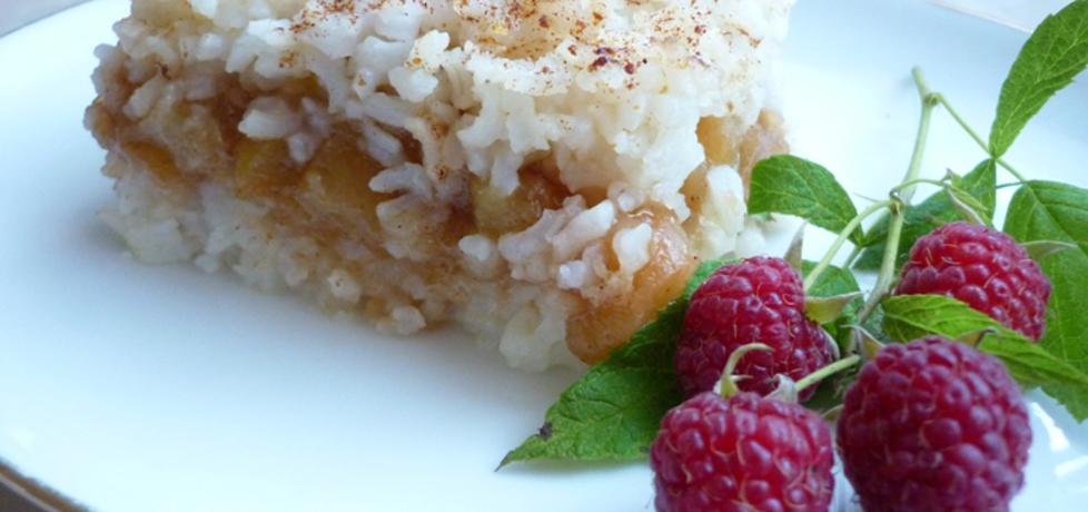 Zapiekanka z ryżu z jabłkami (autor: renatazet)