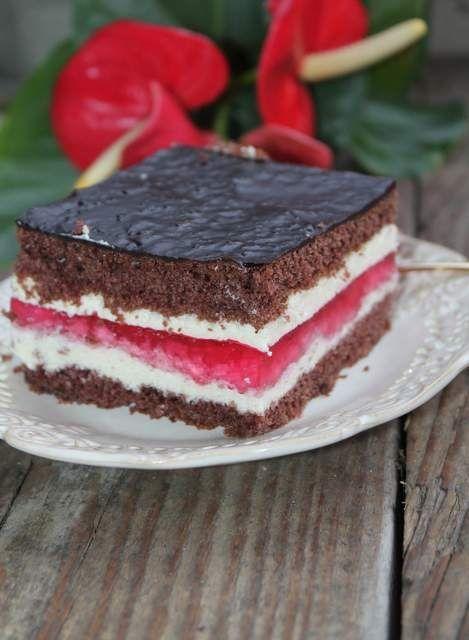 Przepis  ciasto czekoladowe ambasador przepis