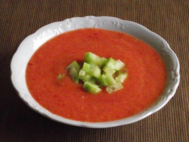 Przepis  gazpacho ze świeżych warzyw przepis