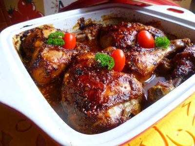 Kurczak w miodowo