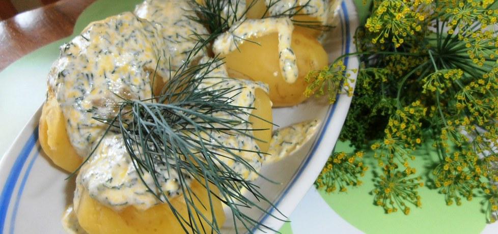 Młode ziemniaki w śmietanie z koperkiem (autor: 2milutka ...