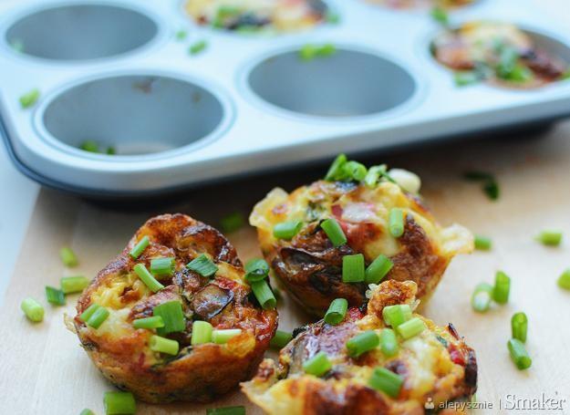 Pomysł na śniadanie – muffinki jajeczne