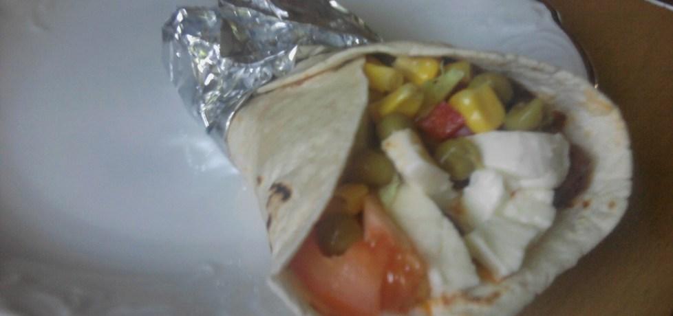 Tortilla z mozzarellą (autor: polly66)