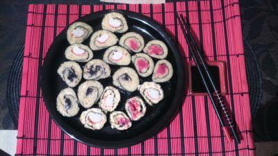 Przystawka a la sushi