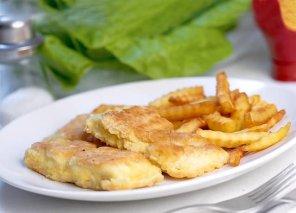 Ryba panierowana smażona  prosty przepis i składniki