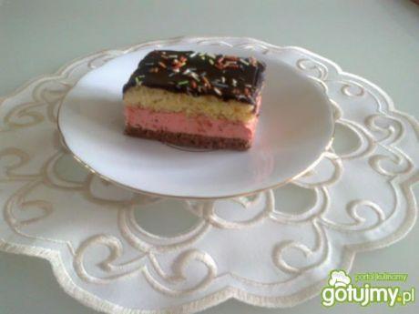 Przepis  ciasto z masą truskawkową wg megg przepis