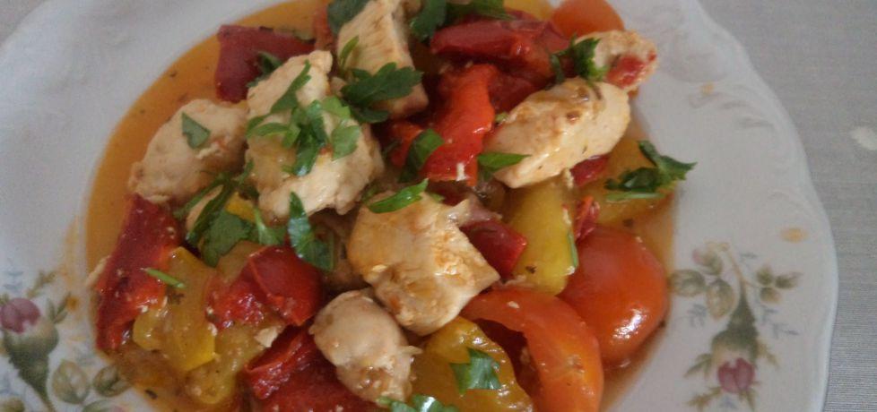Filet z kurczaka z papryka i pomidorami (autor: adagaba ...