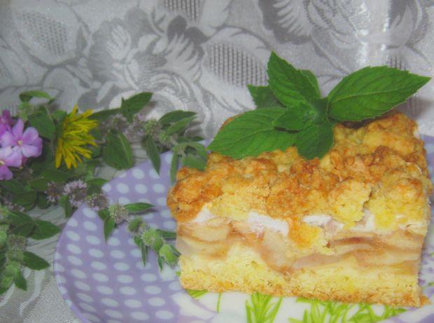 Przepis  ciasto kruche z jabłkami przepis