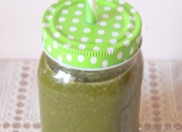 Koktajl zielony detox  bomba witaminowa
