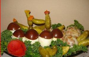 Grzybki z jajek  prosty przepis i składniki