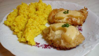 Pierś z kurczaka z serem i ananasem