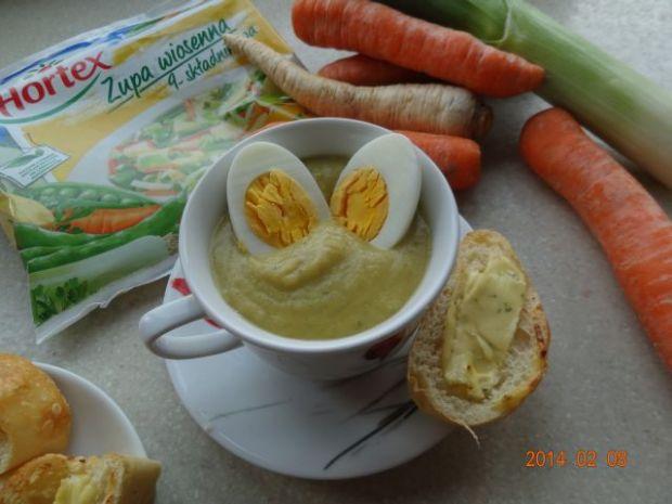 Przepis  zupa krem warzywno-musztardowa przepis