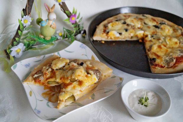 Przepis  wielkanocna pizza przepis