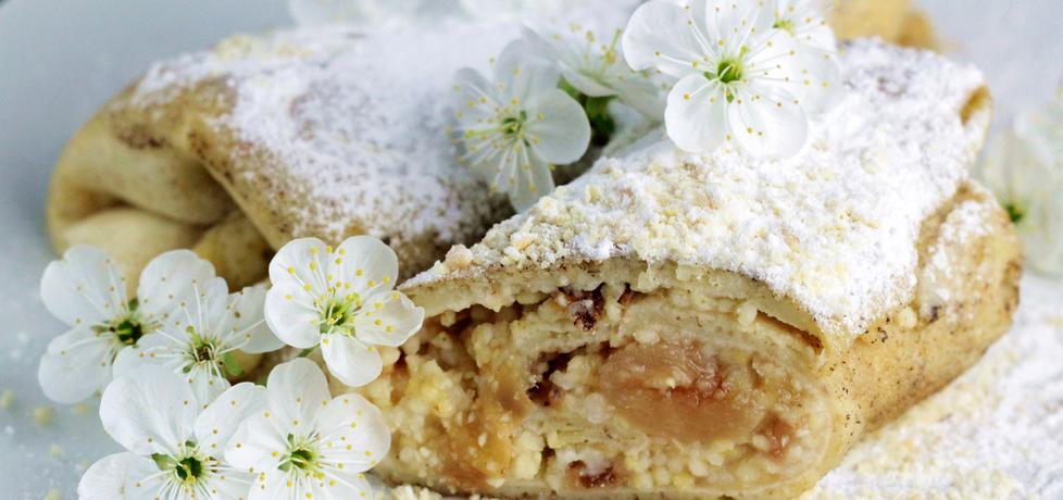Naleśniki z jabłkami i kaszą jaglaną (autor: ostra-na