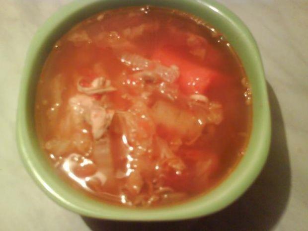 Przepis  pomidorowa zupa jarzynowa przepis