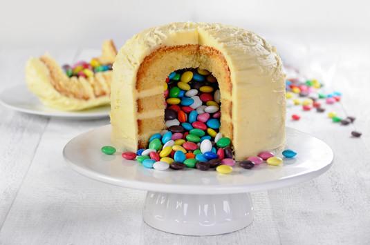 Lentilkowy tort