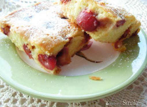 Łatwe ciasto z owocami