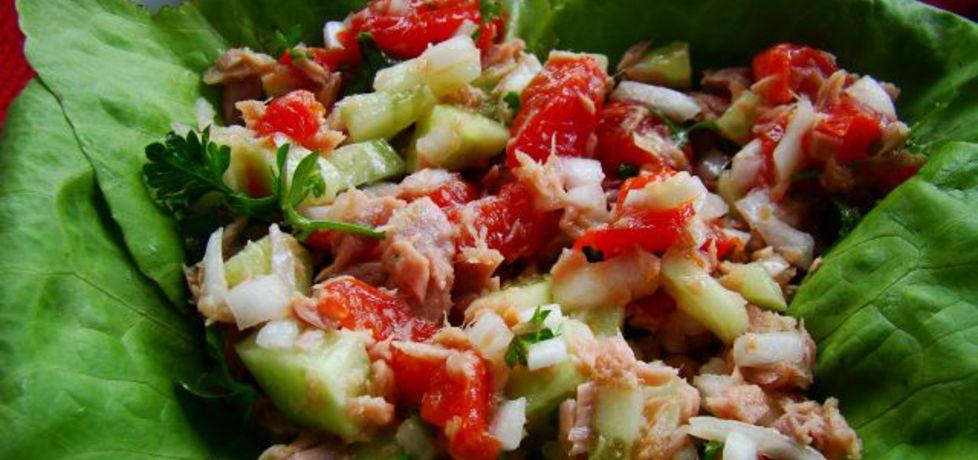 Sałatka warzywno tuńczykowa 2 (autor: iwa643)