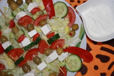 Szaszłyki warzywne bez pieczenia