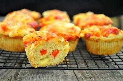 Muffinki o smaku pizzy