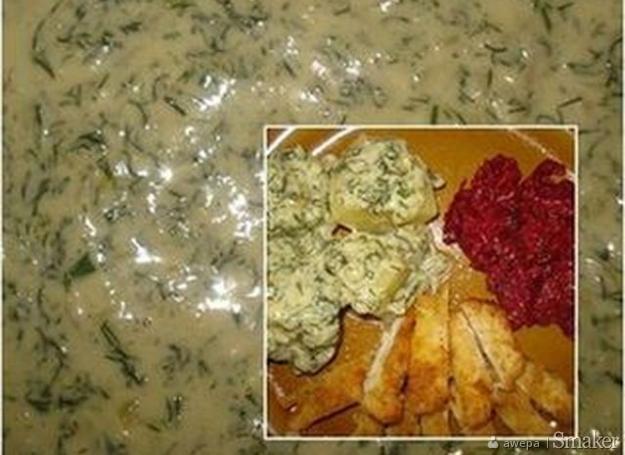 Pyszny sos koperkowy bez mąki