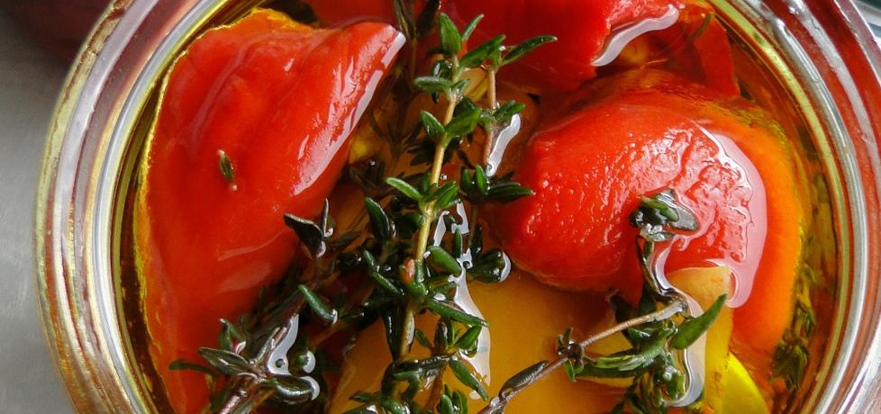 Pieczona papryka w oliwie z oliwek (autor: agnieszkab ...