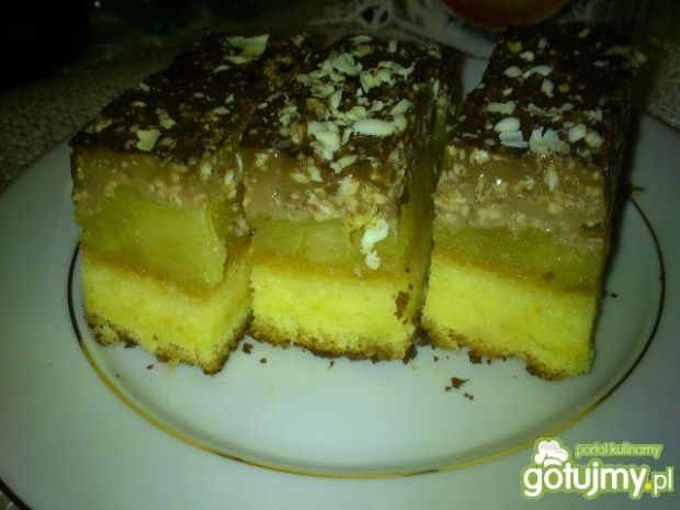 Przepis  jabłecznik capucino od hamrocyka przepis