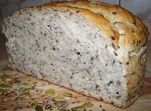 Chleb wieloziarnisty  prosty przepis i składniki